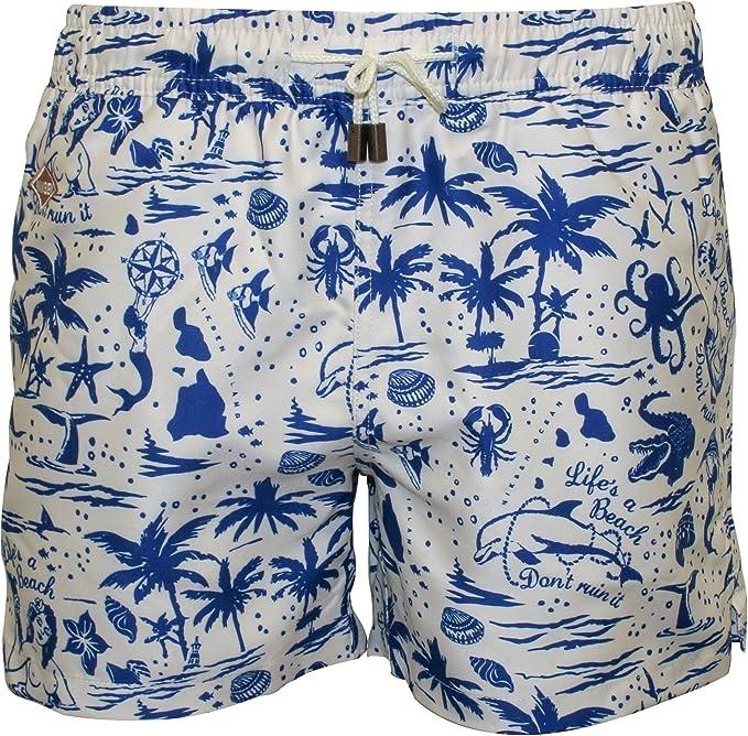 Men Swim Suits I Love Sweden Swedish Flag Quick Dry Beach Board Short with Pocket