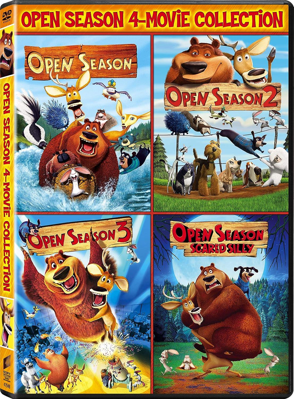 Open Season 2006 Open Season 2 Open Season 3 Open Season Scared Silly Vol Amazon Co Uk Mann Danny Dvd Blu Ray