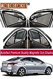 AUTOFACT Magnetic Window sunshade for Nex Gen Verna 2017 / 2018 -Set of 4 - With Zipper
