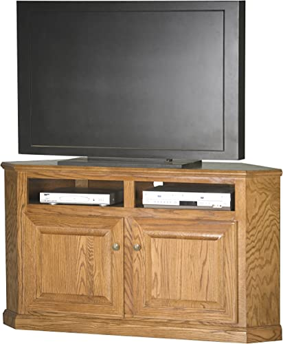 Eagle Corner Entertainment Console, 56 , Medium Oak Finish