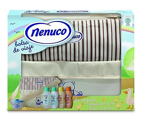 Nenuco bolsa de viaje - incluye leche hidratante, champú, agua de colonia, jabón