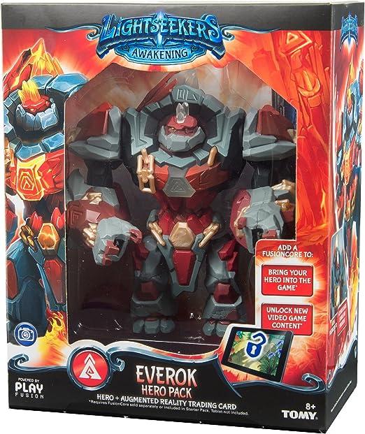 Lightseekers Awakening Everok Hero Pack augmented reality Card /& Action Figure