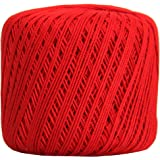 Crochet Thread - SIZE 3 - Color 12 - RED