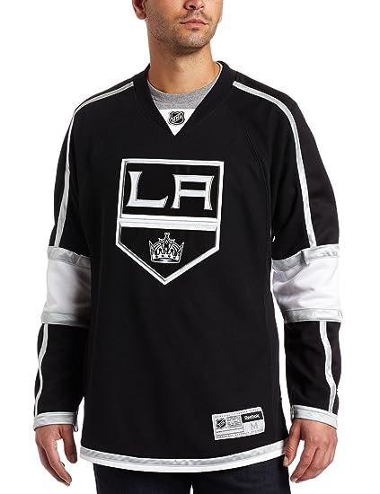 754b1503fb2 Amazon.com : NHL Los Angeles Kings Premier Jersey, Black : Sports ...