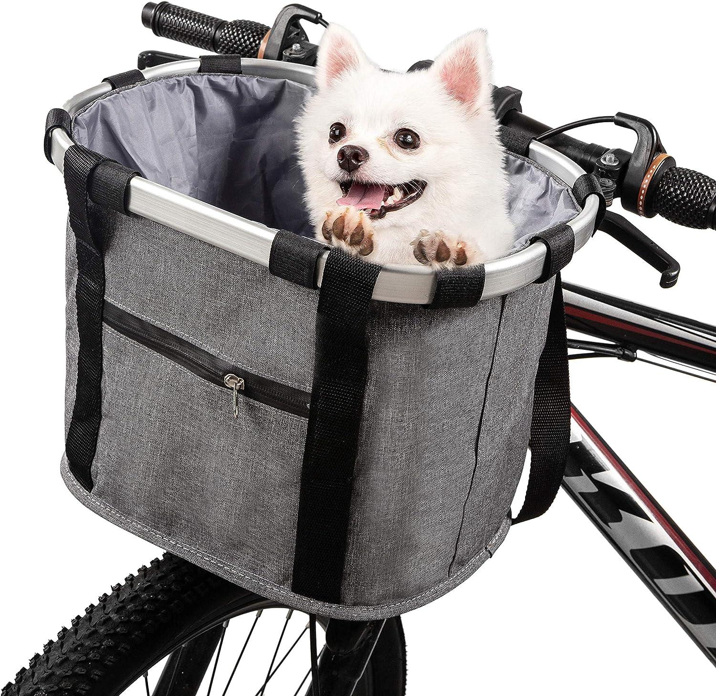 Bicycle Front Bags Cycling Bike Handlebar Basket Pet Puppy Dog Cat Waterproof