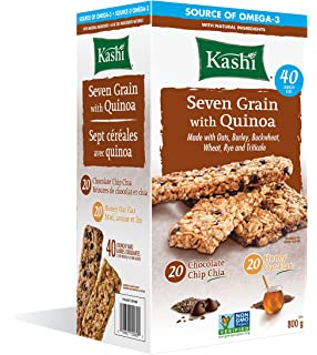 Kashi seven grain with quinoa bars chocolate chip chia non gmo kashi seven grain with quinoa bars 40 count ccuart Choice Image