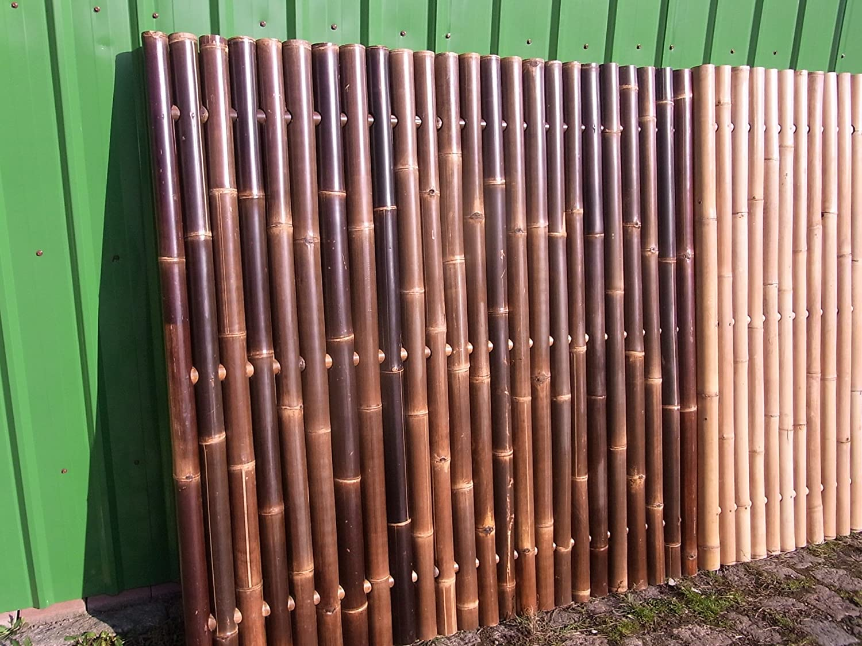 Bambuszaun Gartenzaun Bambus Sichtschutzzaun Sichtschutzwand