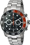Invicta Men's 'Pro Diver' Quartz Stainless Steel Casual Watch, Color:Silver-Toned (Model: 22230)