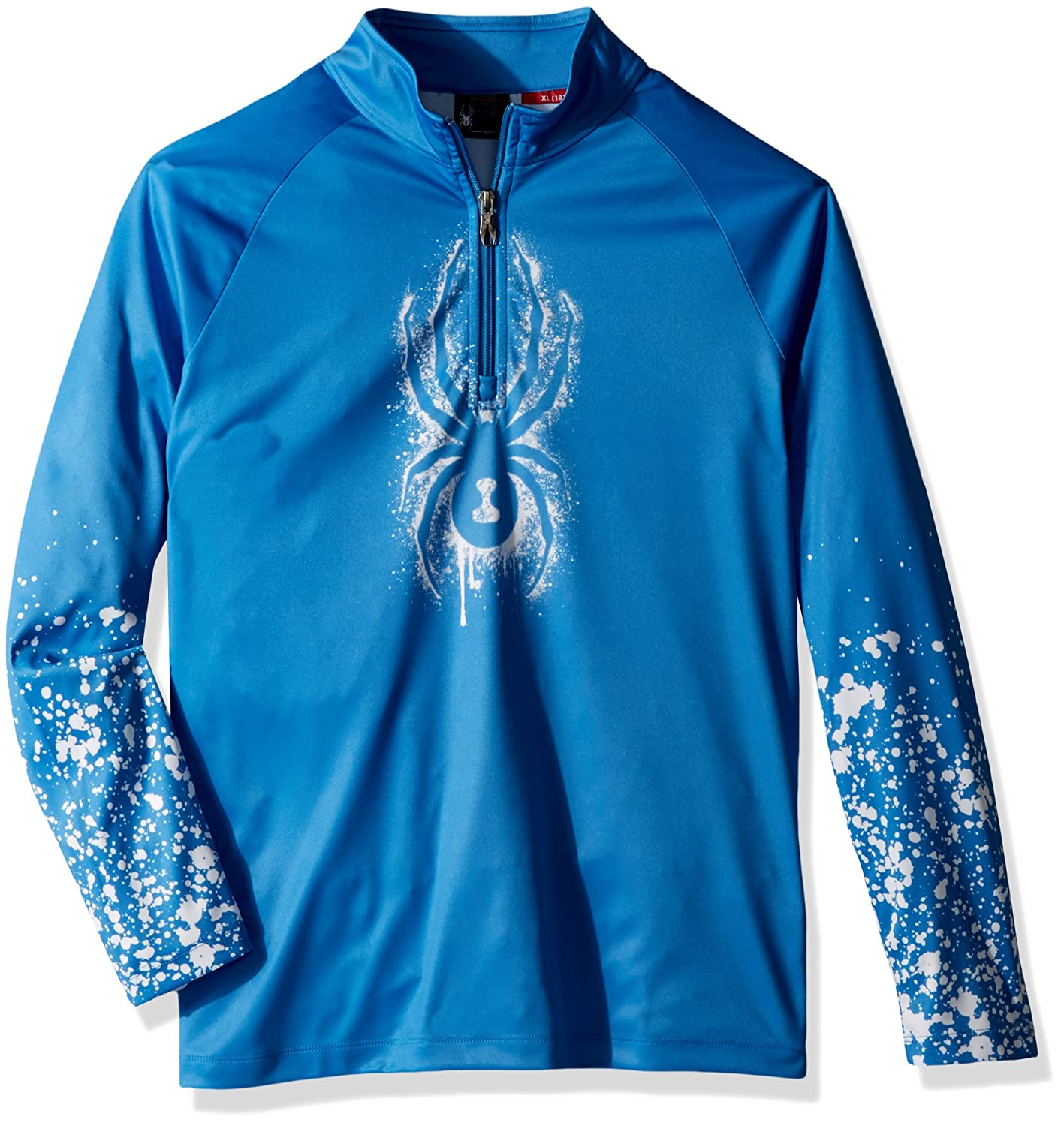 Spyder Boys' Limitless 1/4 Zip Dry We T-Neck 231029