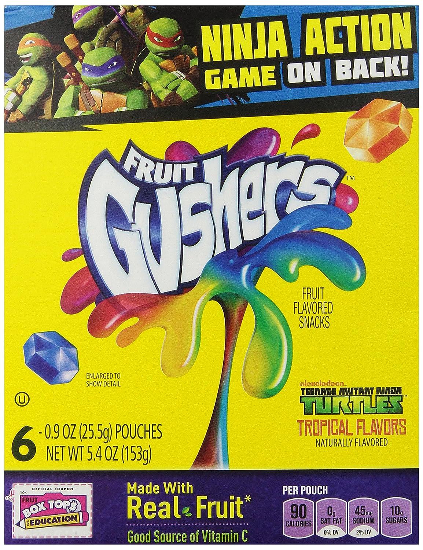 Fruit Gushers Tropical Flavors 5.4 oz: Amazon.es ...