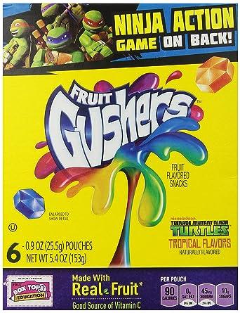 Fruit Gushers Tropical Flavors 5.4 oz