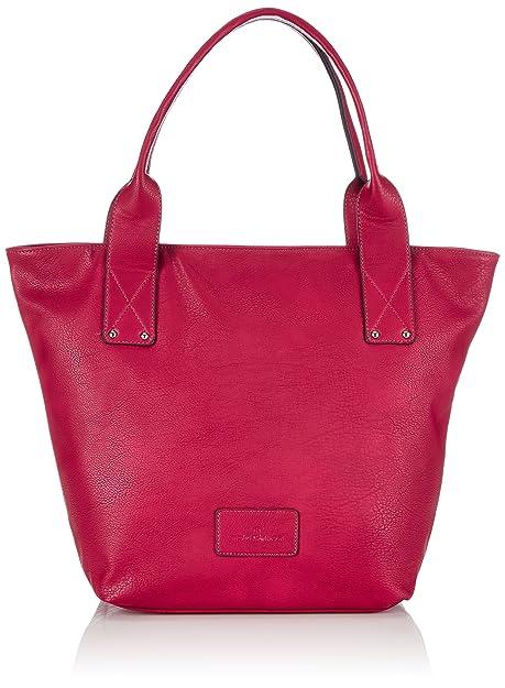 64a3edf81e Tom Tailor Acc CHARLOTTE, Borsa shopper donna, Rosa (Pink (pink 46)