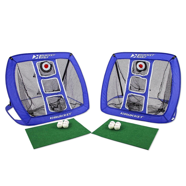 Rukket Skee Golf Chippingゲーム チップatテールゲート、バーベキュー、Man Cave、裏庭、ビーチ 練習スイングCornholeボードBeer Pong B07C4FXVV3