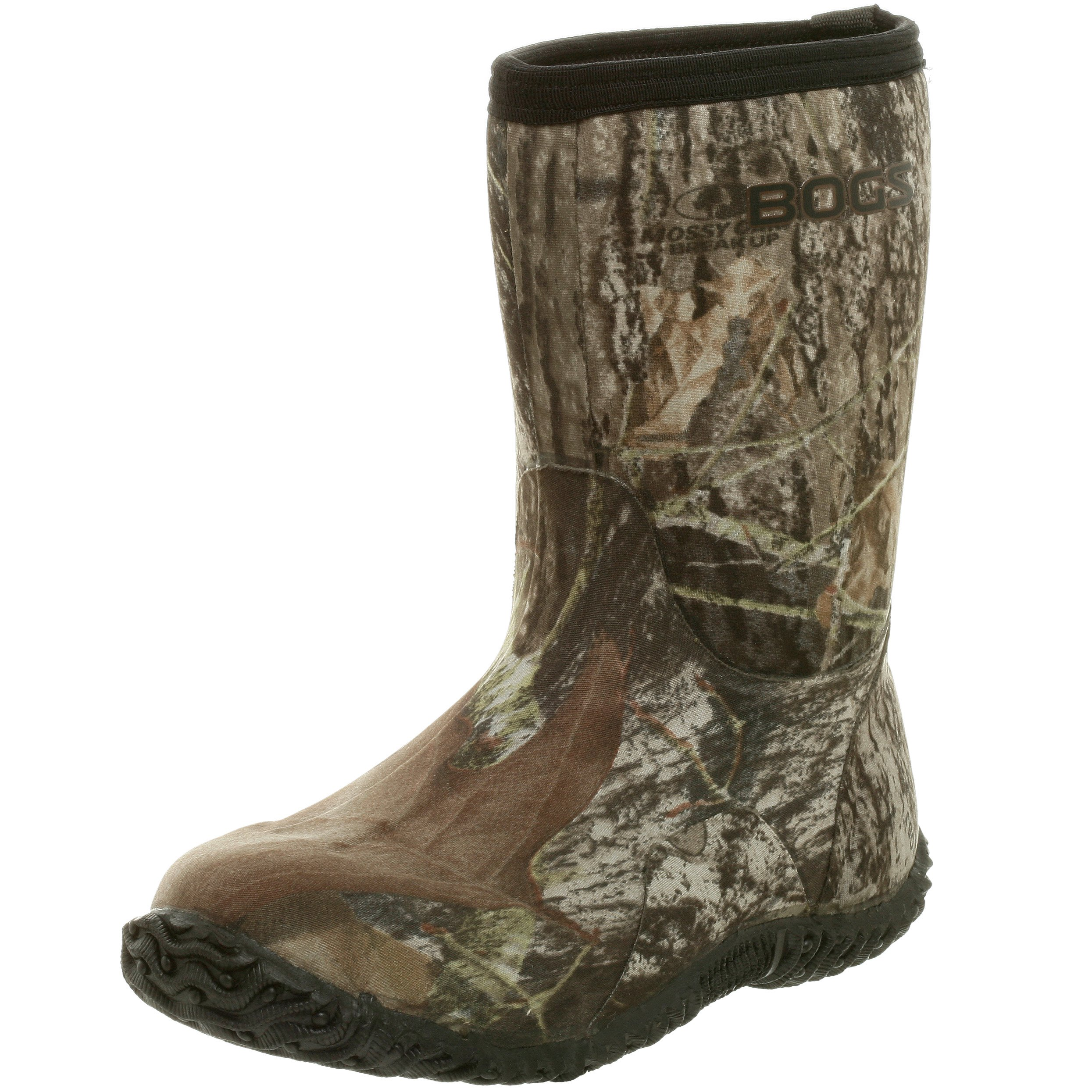 Bogs Classic Mid Waterproof Insulated Rain Boot (Toddler/Little Kid/Big Kid),  Mossy Oak, 9 M US Toddler