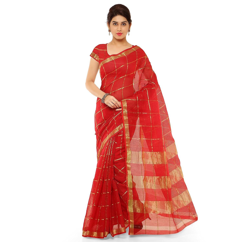 f72f96f55d262a Kvsfab Women s Cotton silk Saree