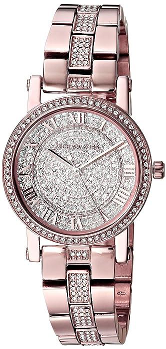9373b2a63c51 Michael Kors Women s  Petite Norie  Quartz Stainless Steel Casual Watch