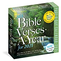 365 Bible Verses-A-Year Page-A-Day Calendar 2021