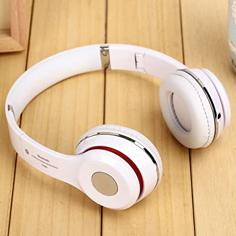 Wireless S460 on-ear auriculares Bluetooth estéreo inalámbrico auriculares para teléfono móvil (blanco)