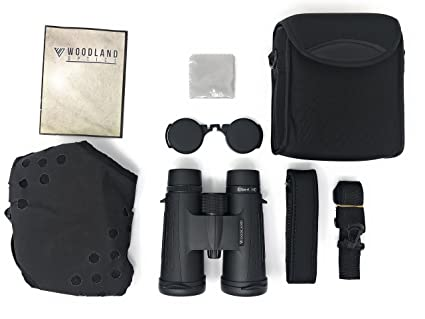 Prismáticos de techo Woodland Optics Elbert HD BAK4 8 x 42 con ...