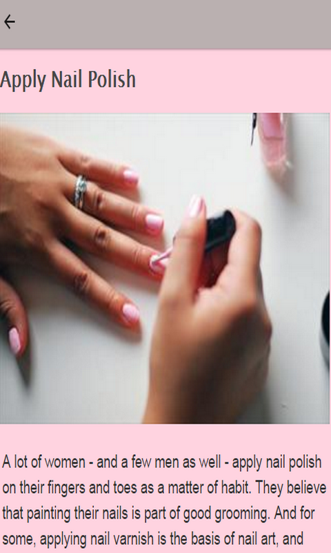 Amazon.com: How To Apply Nail Polish: Appstore For Android