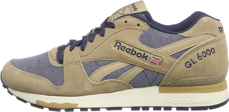 Reebok GL 6000 CH Zapatillas para Hombre, Color marrón