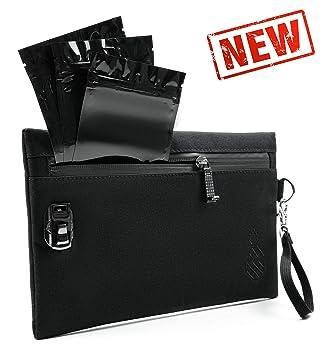 Amazon.com: Bolsa a prueba de olores + 3 mini bolsas a ...