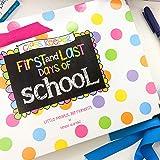 First Day & Last Day of School Memory Book Keepsake