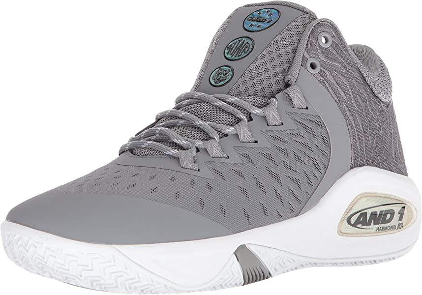 7df161eff78b AND1 Men s Attack Mid Basketball Shoe