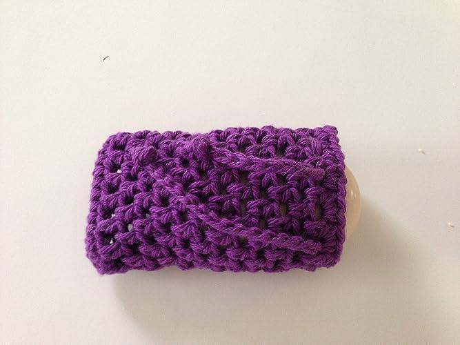 Amazon Crochet Soap Saver In Purple Soap Sack Soap Holder
