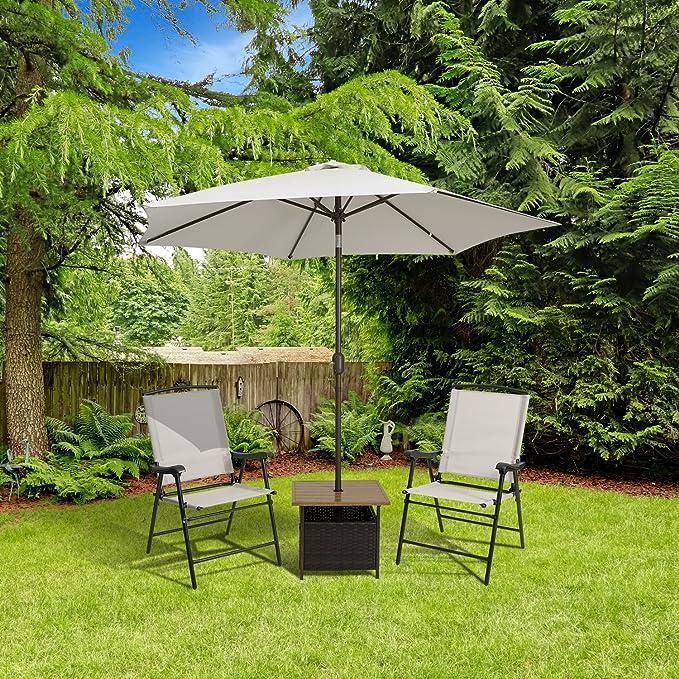 Mármol campo plegable tela Sling para exteriores/interiores silla ...
