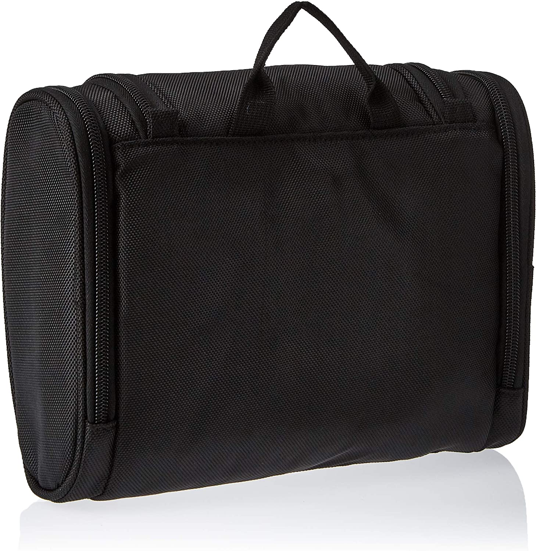 Basics Hanging, Travel Toiletry Bag Organizer, Shower Dopp Kit, Black