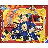 Ravensburger Puzzle - Puzzle con marco Sam el bombero, 48 piezas (6114)