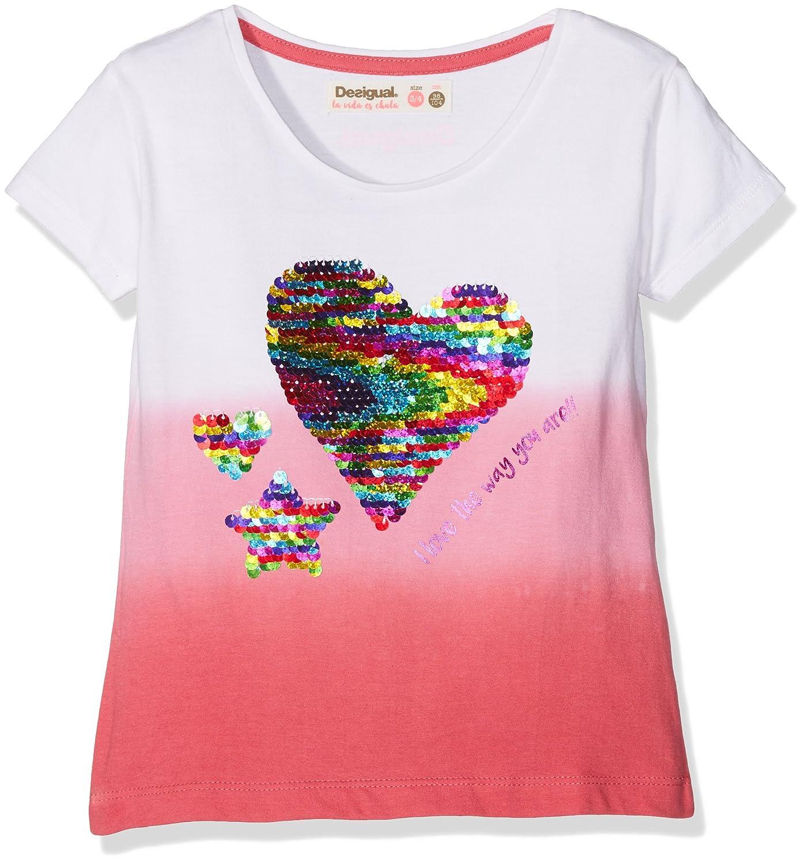 Desigual TS_Alberta, T-Shirt Bambina 18SGTK61