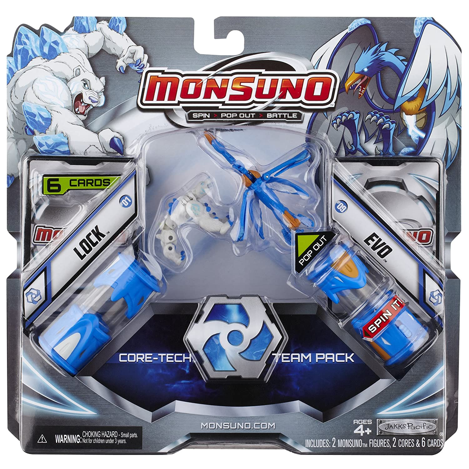 Lock//Evo 14556 Wave #1 Monsuno Core Combat 2-Pack