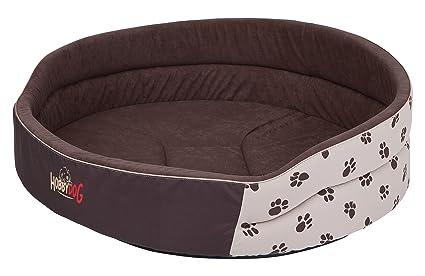 Hobbydog Cama de Espuma para Perro, tamaño 6, Color Beige con Patas