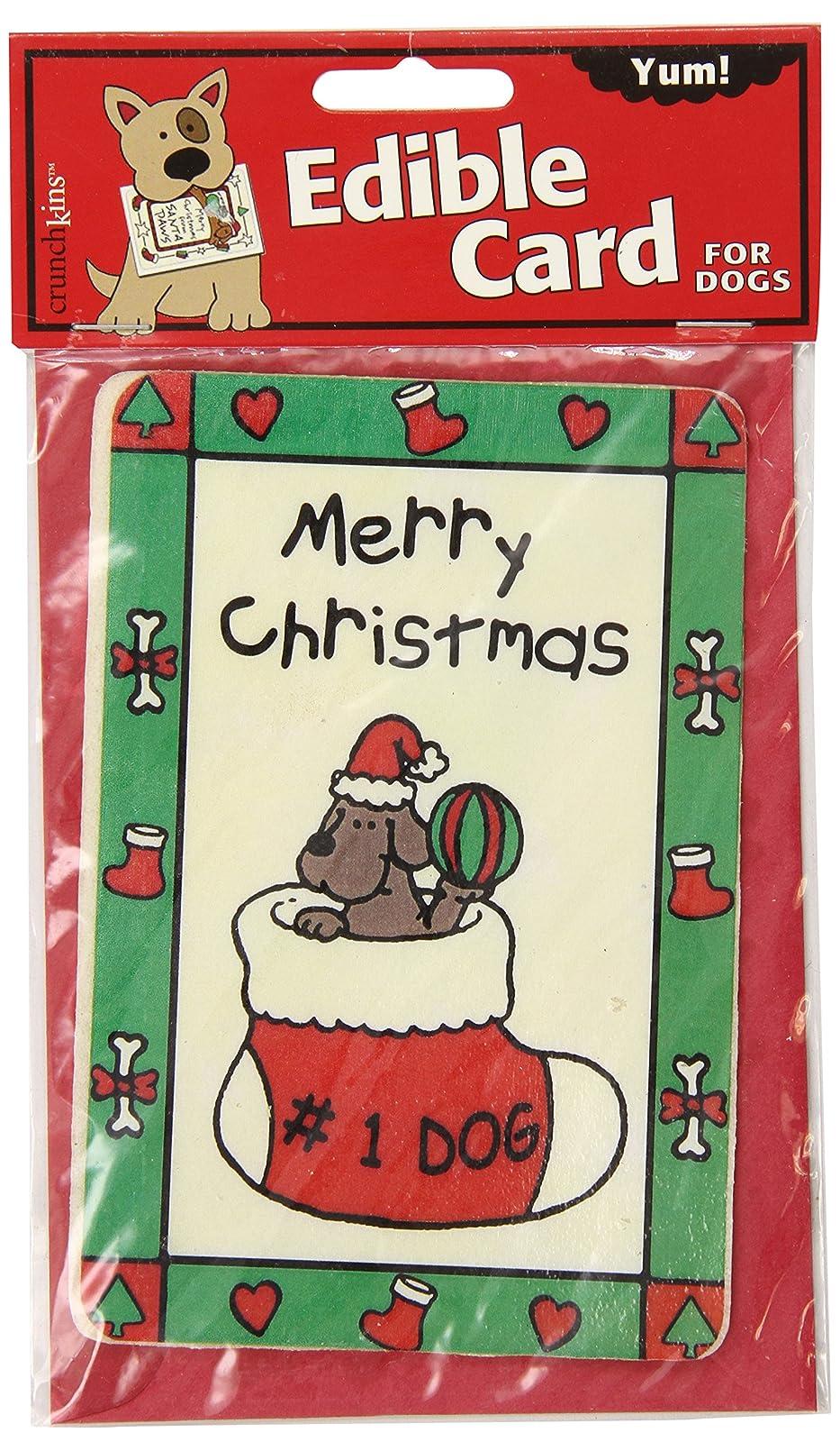 Crunchkins Crunch Edible Card Merry Christmas No. 3014 - 1