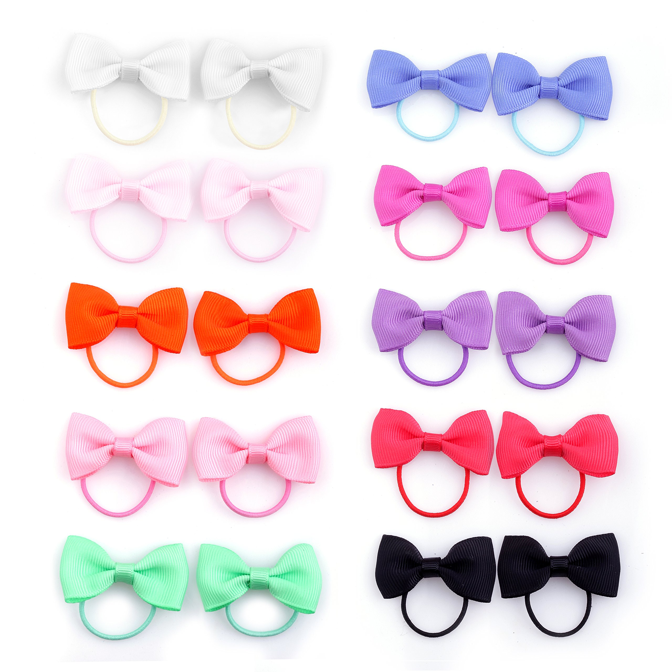 Amazon.com   Multi Candy Color Baby Girl s Kids Hair Holder Hair ... 18c553bf98f