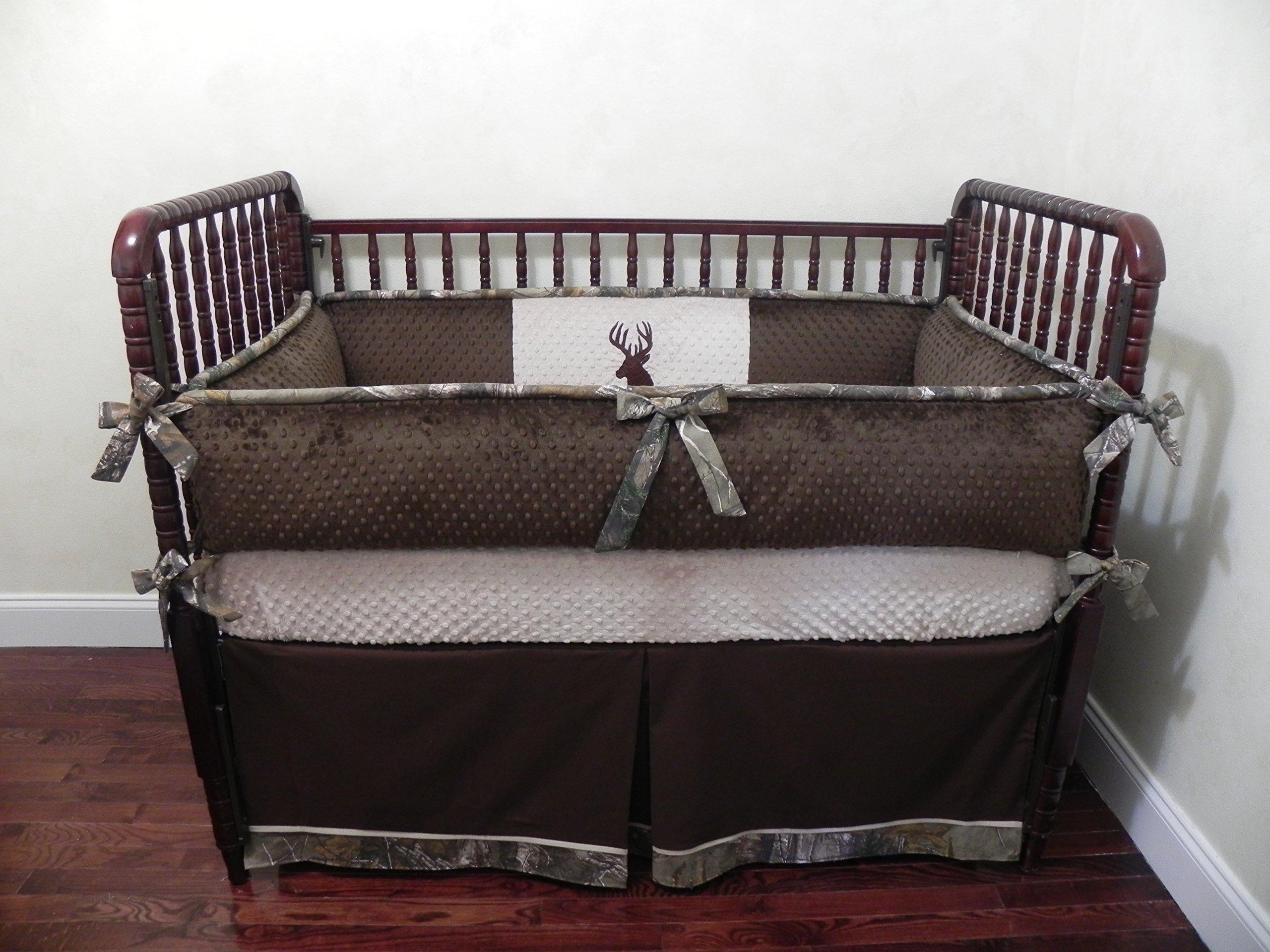 Nursery Bedding, Baby Crib Bedding Set Paxton, Boy Baby Bedding, Deer Crib Bedding, Woodlands Nursery Bedding - Choose Your Pieces