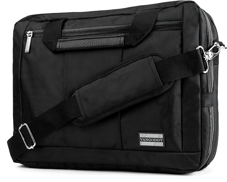 Black Convertible Laptop Bag for Dell Inspiron Latitude Alienware XPS Precision G3 G5 G7 Vostro 14