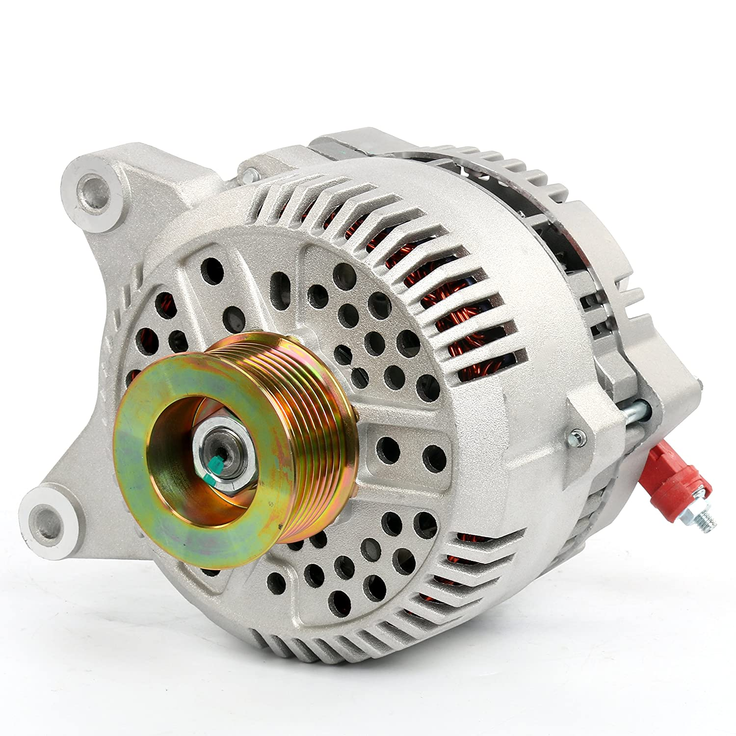 YAETEK 100% New Alternator (JJ-0083-7791N) for Ford F150 F250&F350 Econoline Expedition 4.6L 5.4L (1997-2001) Yaemart Corportation