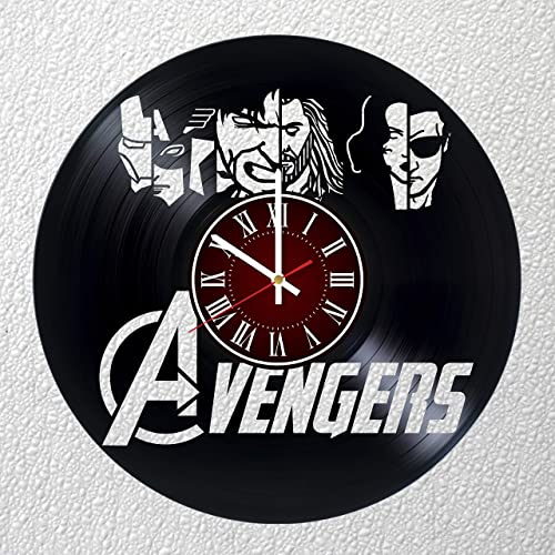 AVENGERS 12 inches / 30 cm Vinyl Record Wall Clock