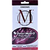 Condones M Force + Multi O 3 piezas