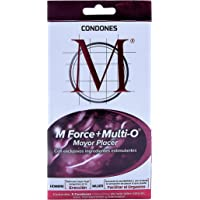 Condones M Force + Multi O 3 piezas