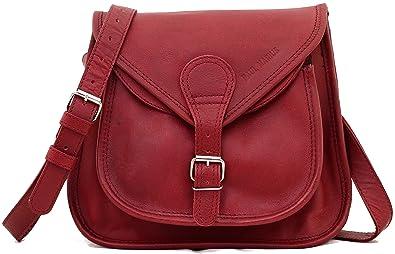 451165f4cb5f6 LA BESACE Cuir couleur BORDEAUX sac à main bandoulière style bohème PAUL  MARIUS, Bordeaux,