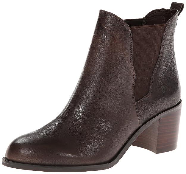 SAM EDELMAN Justin - Botines chelsea de cuero mujer, color marrón, talla 41.5: Amazon.es: Zapatos y complementos