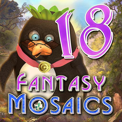 Fantasy Mosaics 18: Explore New Colors (Game Gem App compare prices)