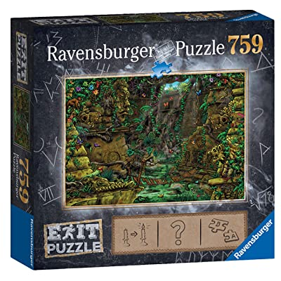 Ravensburger Exit Puzzle – Temple 759pc Mystery Jigsaw Puzzle: Toys & Games