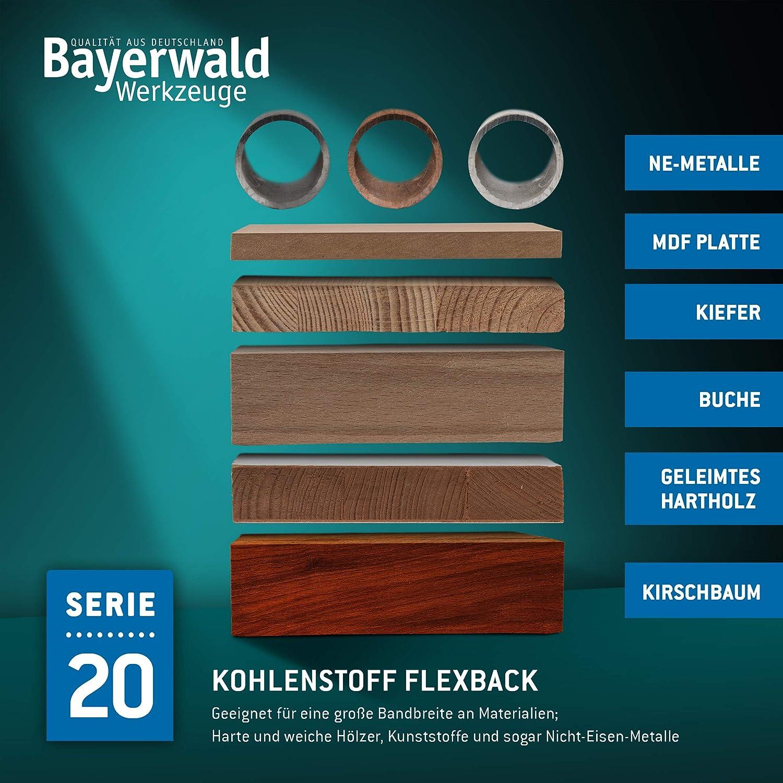 Kunststoff NE-Metalle 1712 x 3 x 0.5 x 6 // Holz Bayerwald Werkzeugstahl Bands/ägeblatt d/ünne Bleche//S/ägeband passend f/ür Metabo Elektra Beckum uvm.