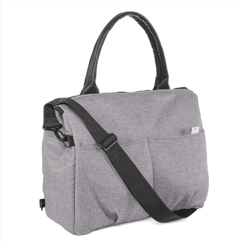 fb6f61fb1 Chicco Bolso con cambiador y organizador extraible, color gris: Amazon.es:  Bebé