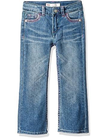 cb40821e3 Levi's Girls' 715 Thick Stitch Bootcut Jean
